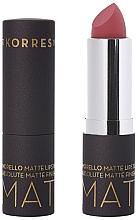 Parfumuri și produse cosmetice Ruj mat de buze - Korres Morello Matte Lipstick
