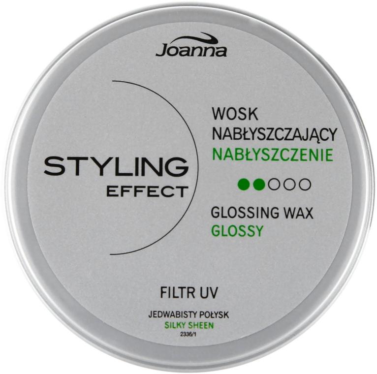 Ceară de păr, pentru strălucire - Joanna Styling Effect Glossing Wax — Imagine N1