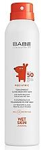 Parfumuri și produse cosmetice Spray cu protecție solară pentru copii SPF50+ - Babe Laboratorios Pediatric Wet Skin
