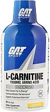 Parfumuri și produse cosmetice L-Carnitină lichidă 1500, lămâie - GAT Sport L-Carnitine Amino Acid Lemon Blast