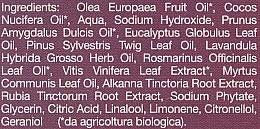 "Săpun bio ""Mirtle și Struguri roșii"" - La Saponaria Bio Sapone — Imagine N4"