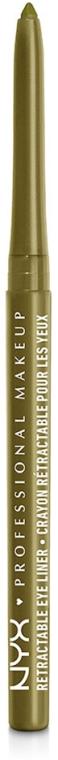 Creion dermatograf rezistent la apă - NYX Professional Makeup Retractable Eye Liner