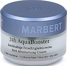 Parfumuri și produse cosmetice Cremă pentru ten uscat - Marbert 24h Aqua Booster Moisturizing Cream For Dry Skin