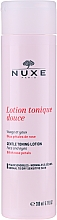 Parfumuri și produse cosmetice Loțiune tonică cu petale de trandafir pentru ten uscat și sensibil - Nuxe Gentle Toning Lotion With Rose Petals