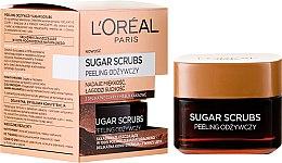 Scrub nutritiv pentru față - L'Oreal Paris Sugar Scrubs — Imagine N1