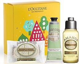 Parfumuri și produse cosmetice Set - L'Occitane Almond (sh/oil/75ml + soap/50g + h/cr/30ml)