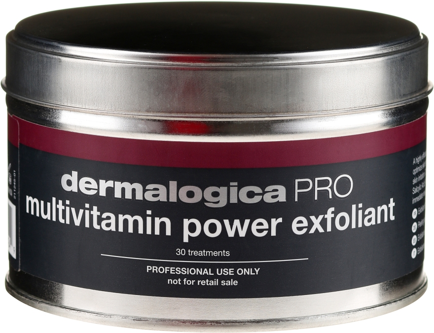 Peeling facial - Dermalogica Professional Multivitamin Power Exfoliant Salon Size — Imagine N1