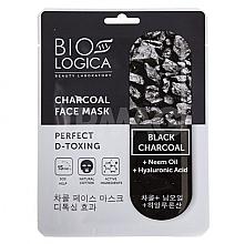 """Parfumuri și produse cosmetice Mască cu cărbune pentru față """"Detoxifiere perfectă"""" - Biologica Charcoal"""