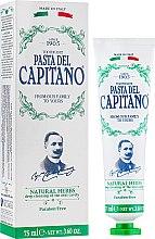 Pastă cu extracte din plante pentru dinți - Pasta Del Capitano 1905 Natural Herbs Toothpaste — Imagine N2