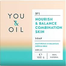 Parfumuri și produse cosmetice Săpun hrănitor pentru ten mixt - You & Oil Nourish & Balance Combination Skin