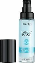 Parfumuri și produse cosmetice Bază de machiaj cu efect de hidratare - Ingrid Cosmetics Make-up Base Long-Lasting Moisturizing & Rejuvenating