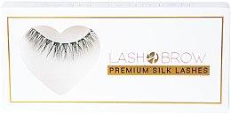 Parfumuri și produse cosmetice Gene false - Lash Brow Premium Silk Lashes Natural Mess
