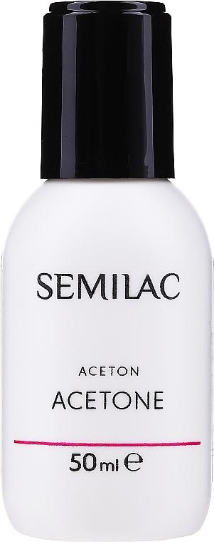 Soluție pentru înlăturarea gel-lacului - Semilac Acetone