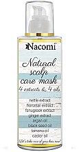 Parfumuri și produse cosmetice Mască pentru scalp și păr - Nacomi Natural Hair Mask