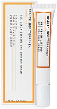 Parfumuri și produse cosmetice Cremă pentru zona ochilor - Beaute Mediterranea Bee Venom Lifting Eye Contour Cream