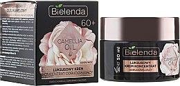 Parfumuri și produse cosmetice Cremă regenerantă pentru față 60+ - Bielenda Camellia Oil Luxurious Rebuilding Cream 60+
