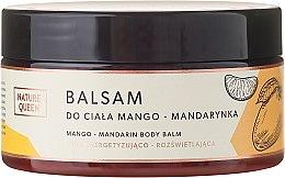 """Parfumuri și produse cosmetice Balsam de corp """"Mango și Mandarină"""" - Nature Queen Body Balm"""