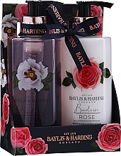 Parfumuri și produse cosmetice Set - Baylis & Harding Boudoire Rose (sh/gel/300ml + b/lot/300ml)