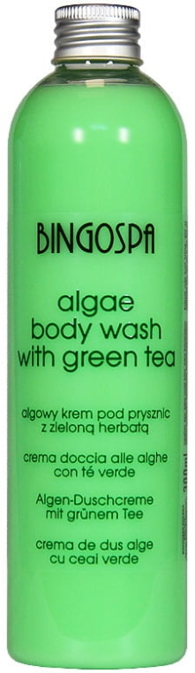 "Gel de duș ""Alge"" - BingoSpa Algae Energizing Body Wash Whit Green Tea"