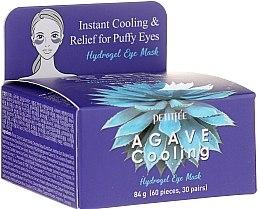 Parfumuri și produse cosmetice Patch-uri hydrogel sub ochi cu extract de agava - Petitfee & Koelf Agave Cooling Hydrogel Eye Mask