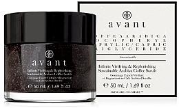 Parfumuri și produse cosmetice Scrub revigorant cu cafea pentru față - Avant Infinite Vivifying & Replenishing Sustainable Arabica Coffee Scrub