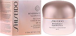 Parfumuri și produse cosmetice Cremă de zi - Shiseido Benefiance NutriPerfect Day Cream SPF 15