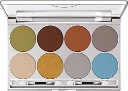 Parfumuri și produse cosmetice Paletă farduri de ochi - Kryolan Dermacolor Light Eye Shadow Palette 8 Colors