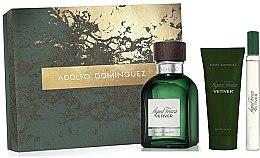 Parfumuri și produse cosmetice Adolfo Dominguez Agua Fresca Vetiver - Set (edt/120ml + asb/75ml + edt/mini/20ml)