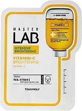 Parfumuri și produse cosmetice Mască folie cu vitamina C - Tony Moly Master Lab Vitamin C Mask