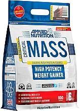 "Parfumuri și produse cosmetice Gainer cu eficacitate mare ""CIocolată"" - Applied Nutrition Critical Mass High Potency Weight Gainer Chocolate"