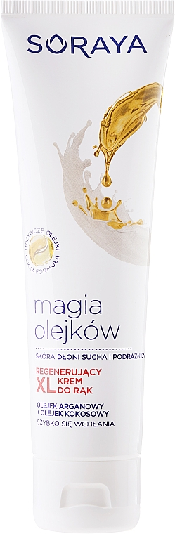 Crema regeneratoare pentru mâini - Soraya Magic of Oils Deeply Regenerating Hand Cream — Imagine N3