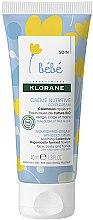 Parfumuri și produse cosmetice Cremă pentru copii - Klorane Baby Nourishing Cream with Cold Cream