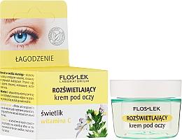 Parfumuri și produse cosmetice Cremă iluminatoare pentru zona ochilor - Floslek