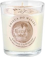 "Parfumuri și produse cosmetice Lumânare de masaj în pahar ""Fortifying coffee"" - Flagolie Coffee Firming Massage Candle"