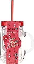 """Parfumuri și produse cosmetice Bombă de baie în borcan """"Hibiscus și acai berries"""" - Bubble T Bath Fizzers In Reusable Jar Hibiscus & Acai Berry"""