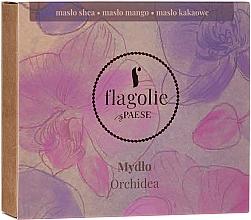 """Parfumuri și produse cosmetice Săpun natural pentru mâini și corp """"Orhidee"""" - Flagolie by Paese Cranberry"""