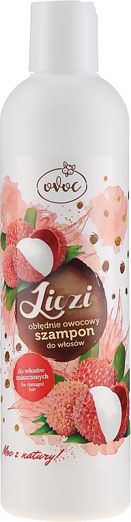 Șampon de păr cu extract de litchi și mango - Ovoc Liczi Szampon