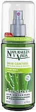 "Parfumuri și produse cosmetice Spray pentru păr ""Aloe Vera"" - Natur Vital Sensitive Hair Control Anti-Frizz & Volume Spray"