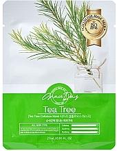 Parfumuri și produse cosmetice Mască din țesătură pentru față cu arbore de ceai - Grace Day Traditional Oriental Mask Sheet Tea Tree