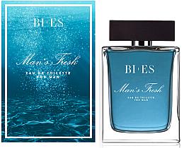 Parfumuri și produse cosmetice Bi-es Man's Frash Eau De Toilette - Apă de toaletă