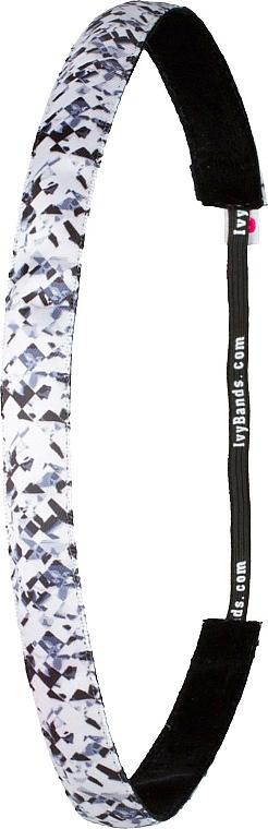 Bandă pentru cap, imprimă - Ivybands Glitch Hair Band — Imagine N1