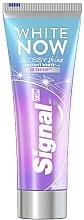 Parfumuri și produse cosmetice Pastă cu efect de albire pentru dinți - Signal White Now Glossy Shine Toothpaste