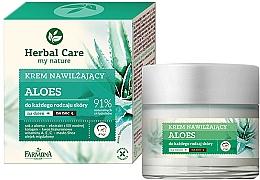 """Parfumuri și produse cosmetice Cremă hidratantă de față """"Aloe"""" - Farmona Herbal Care Moisturizing Cream"""