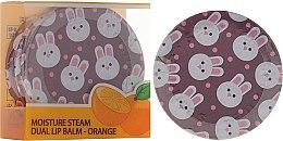 Parfumuri și produse cosmetice Balsam cu extract de portocale pentru buze - SeaNtree Moisture Steam Dual Lip Balm Orange 3