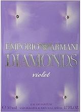 Giorgio Armani Emporio Armani Diamonds Violet - Apă de parfum — Imagine N2