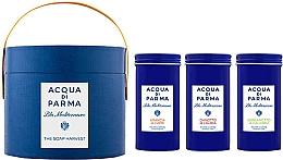 Parfumuri și produse cosmetice Acqua di Parma Blu Mediterraneo - Set (soap/3x70g)