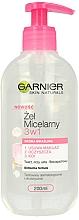 Parfumuri și produse cosmetice Gel micelar pentru pielea sensibilă - Garnier Skin Naturals Cleansing Micellar Gel