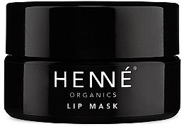 Parfumuri și produse cosmetice Mască pentru buze - Henne Organics Lip Mask