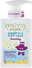 Parfumuri și produse cosmetice Șampon-Gel de duș pentru copii 2 în 1 - Jack N' Jill Serenity Shampoo & Body Wash