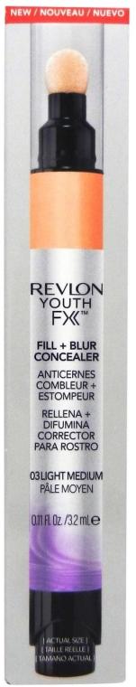 Concealer de față - Revlon Youth FX Fill+Blur Concealer — Imagine N1
